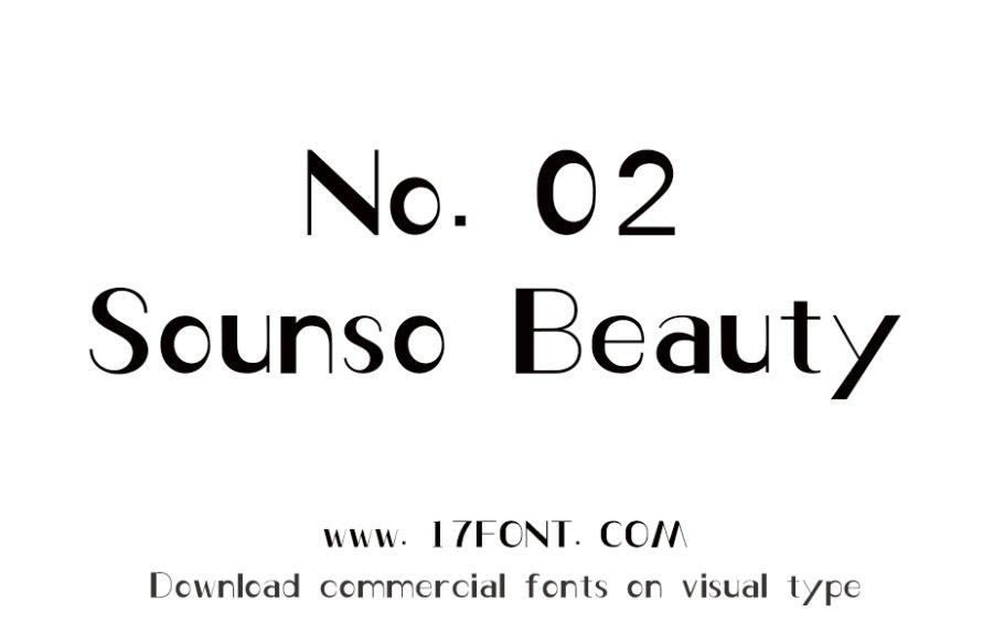 No.02-Sounso Beauty