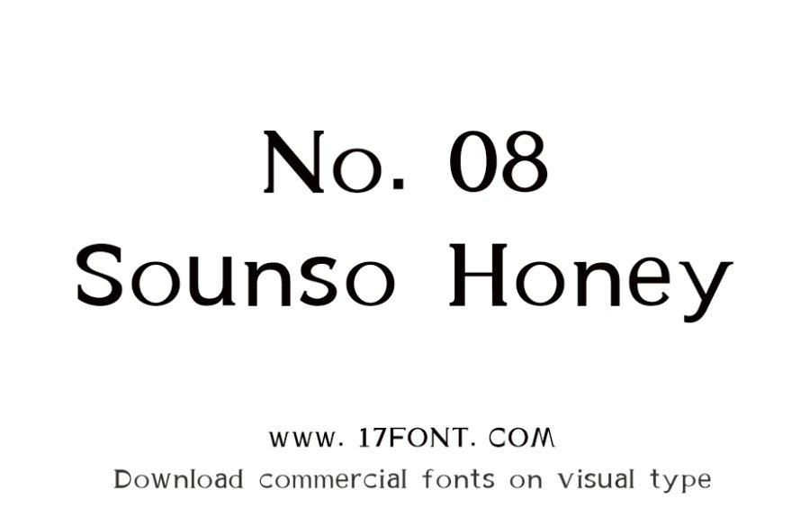 No.08-Sounso Honey