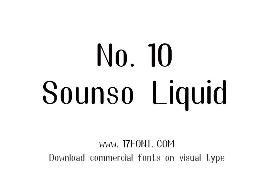 No.10-Sounso Liquid