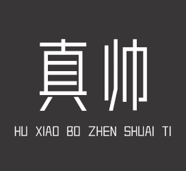 undefined-胡晓波真帅体-字体下载