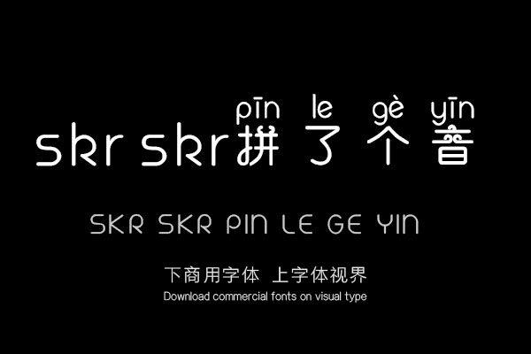 skr skr拼了个音