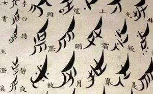 """世界上唯一專屬于女人的文字""""女書"""",看懂它需要特殊的技巧-字體設計"""