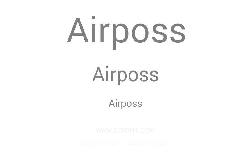 Airposs