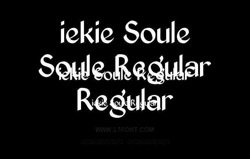 iekie Soule Regular