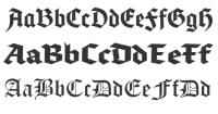 英文字体分类大全(上)